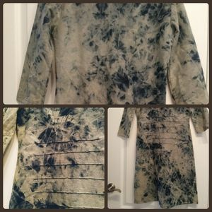 Dresses & Skirts - Stretchy acid-wash dress